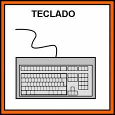TECLADO - Pictograma (color)