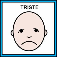 TRISTE - Pictograma (color)