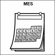 MES - Pictograma (blanco y negro)