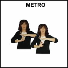 METRO (MEDIO DE TRANSPORTE) - Signo