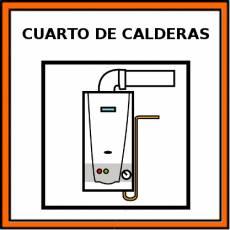 CUARTO DE CALDERAS - Pictograma (color)