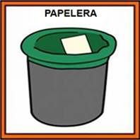 PAPELERA - Pictograma (color)