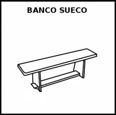 BANCO SUECO - Pictograma (blanco y negro)