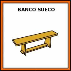BANCO SUECO - Pictograma (color)