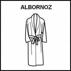 ALBORNOZ - Pictograma (blanco y negro)