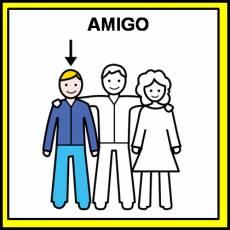 AMIGO - Pictograma (color)