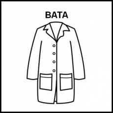 BATA - Pictograma (blanco y negro)