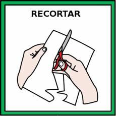RECORTAR - Pictograma (color)