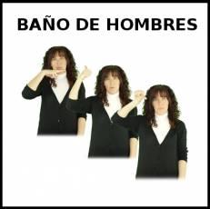 BAÑO DE HOMBRES - Signo