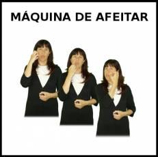 MÁQUINA DE AFEITAR - Signo