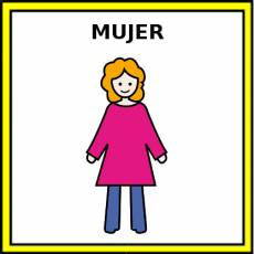 MUJER - Pictograma (color)