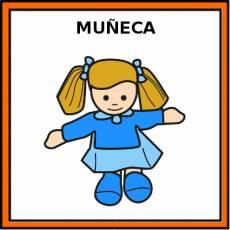 MUÑECA (JUGUETE) - Pictograma (color)