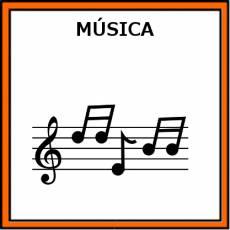 MÚSICA - Pictograma (color)