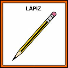 LÁPIZ - Pictograma (color)