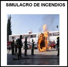 SIMULACRO DE INCENDIOS - Foto