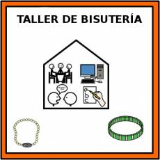 TALLER DE BISUTERÍA - Pictograma (color)