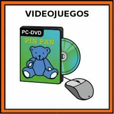 VIDEOJUEGOS - Pictograma (color)
