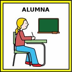 ALUMNA - Pictograma (color)