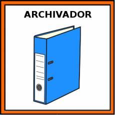 ARCHIVADOR - Pictograma (color)