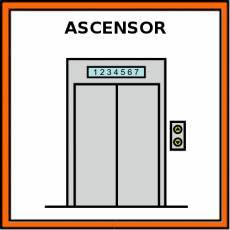 ASCENSOR - Pictograma (color)