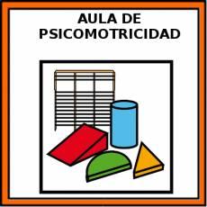 AULA DE PSICOMOTRICIDAD - Pictograma (color)