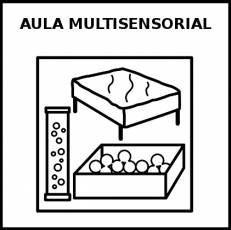 AULA MULTISENSORIAL - Pictograma (blanco y negro)