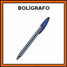 BOLÍGRAFO - Pictograma (color)