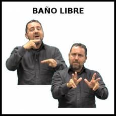 BAÑO LIBRE - Signo