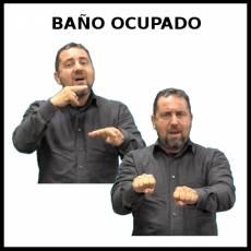 BAÑO OCUPADO - Signo