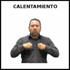 CALENTAMIENTO (DEPORTE) - Signo