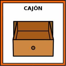 CAJÓN - Pictograma (color)