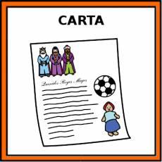 CARTA (REYES MAGOS) - Pictograma (color)