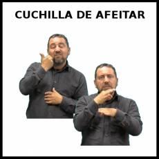 CUCHILLA DE AFEITAR - Signo