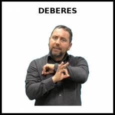 DEBERES - Signo