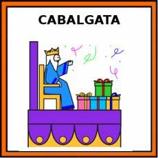 CABALGATA - Pictograma (color)