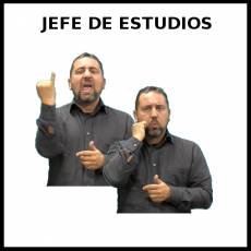 JEFE DE ESTUDIOS - Signo