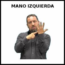 MANO IZQUIERDA - Signo