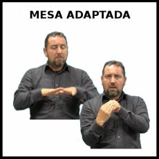 MESA ADAPTADA - Signo
