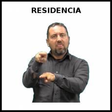RESIDENCIA - Signo