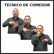 TÉCNICO DE COMEDOR (HOMBRE) - Signo