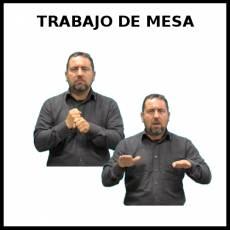 TRABAJO DE MESA - Signo