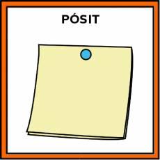 PÓSIT - Pictograma (color)