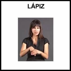 LÁPIZ - Signo