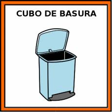 CUBO DE BASURA - Pictograma (color)