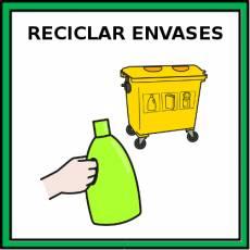RECICLAR ENVASES - Pictograma (color)