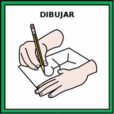 DIBUJAR - Pictograma (color)