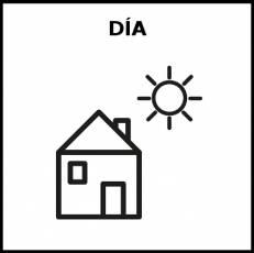 DÍA - Pictograma (blanco y negro)