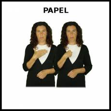 PAPEL (FOLIO) - Signo