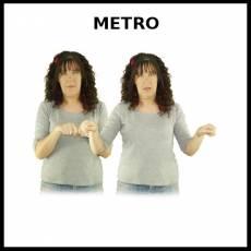 METRO (UNIDAD DE MEDIDA) - Signo