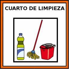 CUARTO DE LIMPIEZA - Pictograma (color)